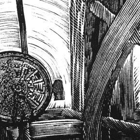 wood engraving keno wheelhouse