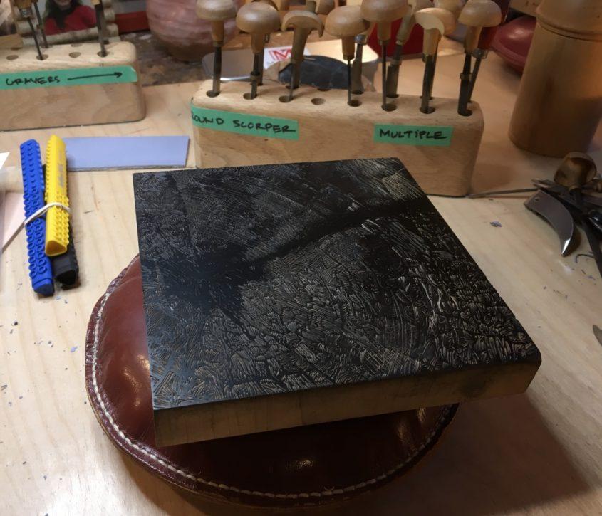 Wood Engraving Block